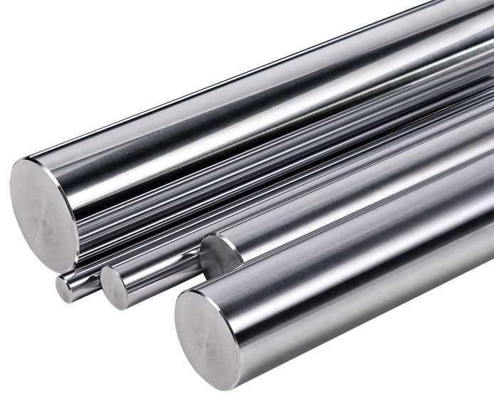 chrome plated bars